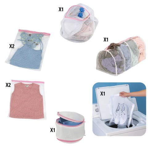 Mesh Wash Bags Assorted 8 pc. Set