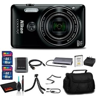 Link to Nikon COOLPIX W300 Digital Camera (Camo) - Premium Essentials Kit - Black Similar Items in Digital Cameras