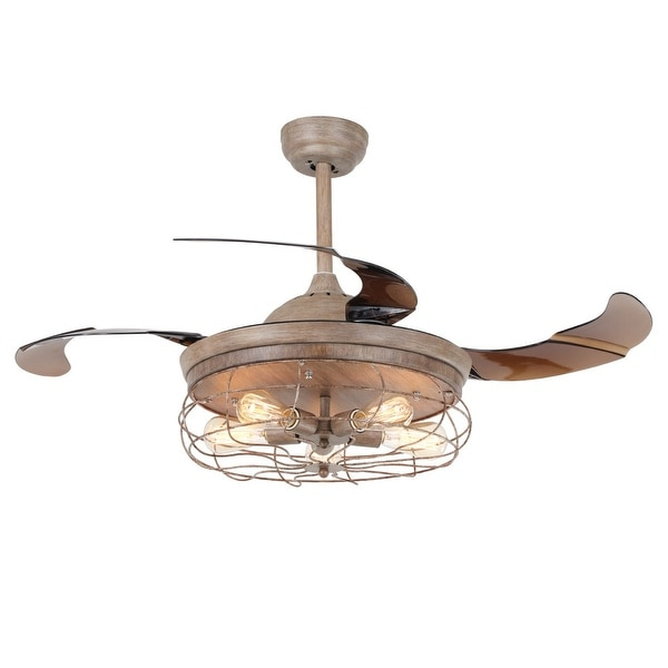 425 industrial foldable ceiling fans with cage shade free 425 industrial foldable ceiling fans with cage shade aloadofball Image collections
