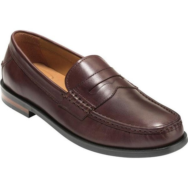 f9c62c971ca ... Men s Shoes     Men s Loafers. Cole Haan Men  x27 s Pinch Friday  Contemporary Loafer Chestnut Hand Stain Leather
