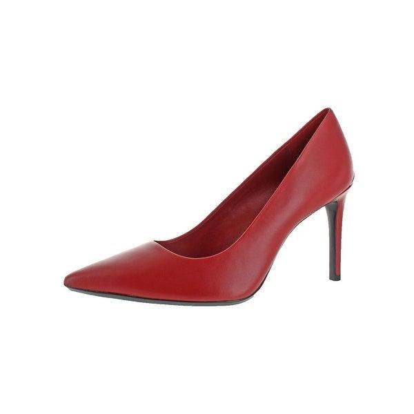 Calvin Klein Womens Ronna Pointed Toe Heels Stiletto Dress - 10 medium (b,m)