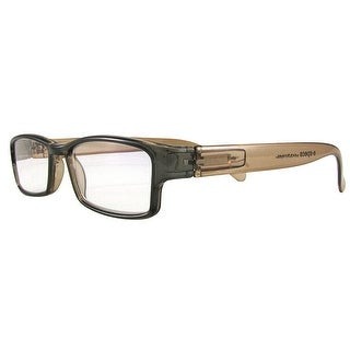 Evolutioneyes E-Specs +0.50 Brown with Light Brown Temples Computer Readers