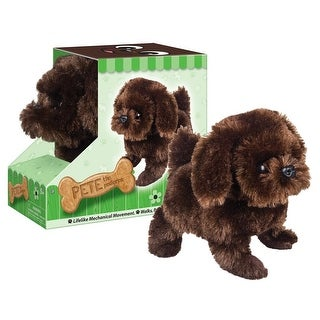 Battery Operated Plush Pete the Pedigree