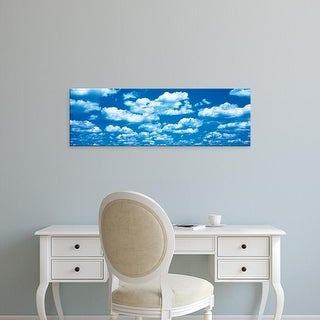 Easy Art Prints Panoramic Images's 'Clouds Marion County IL' Premium Canvas Art