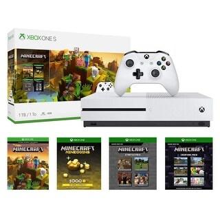Xbox One S 1TB Console - Minecraft Creators Bundle by Microsoft 234-00655