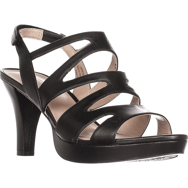naturalizer Pressley Platform Strappy Dress Sandals, Black