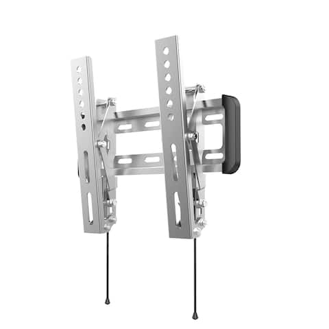 "Loctek Outdoor Tilt TV Wall Mount Bracket for Most 10""- 42"" LCD TV with VESA 100x100 to 200x200, 10 Degree Tilt down"