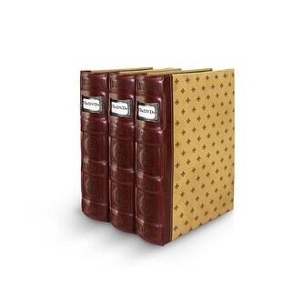 Bellagio-Italia Tuscany DVD Binder- Crimson 3-Pack