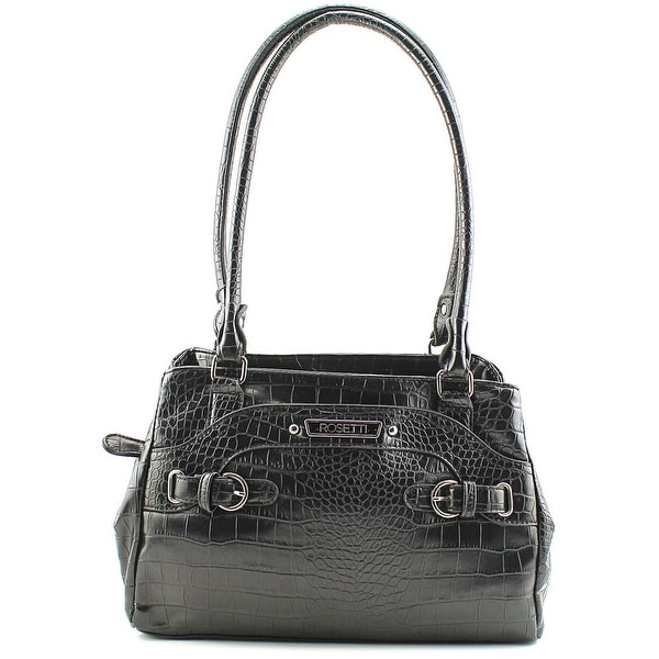 Rosetti Multiplex Farrah Satchel Women Leather Satchel - Black