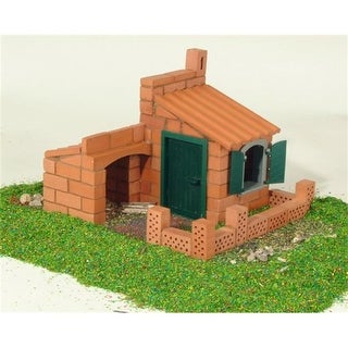 Teifoc House / Water Mill Brick Construction Set - 250 Pc. Pack of 5