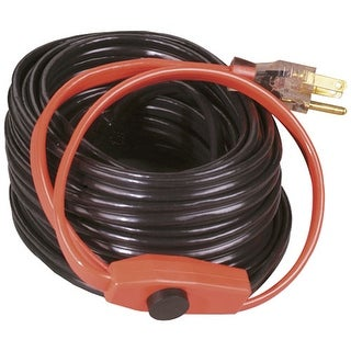 Easy Heat AHB-016 Water Pipe Heating Cable, 6', 120 Volt