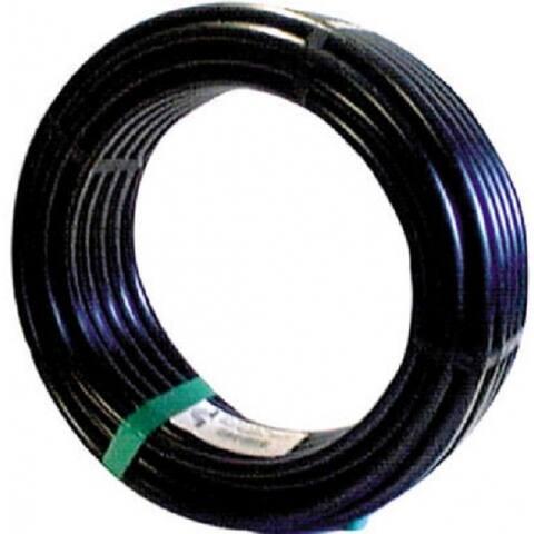 "Raindrip 061010P Poly Drip Watering Hose, 5/8"" x 100', Black"