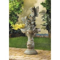 Zingz & Thingz  Fairies Solar Powered Outdoor Garden Water Fountain