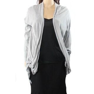 Valette NEW Gray Heather Women's Size Medium M Cardigan Knit Sweater