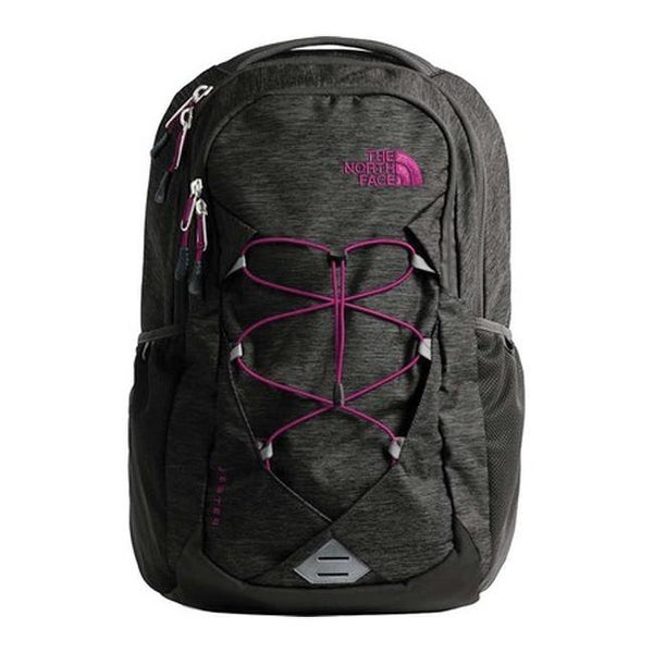 f39c235b5 Shop The North Face Women's Jester Backpack Asphalt Grey Dark  Heather/Dramatic Plum - US Women's One Size (Size None) - Free Shipping  Today - Overstock - ...