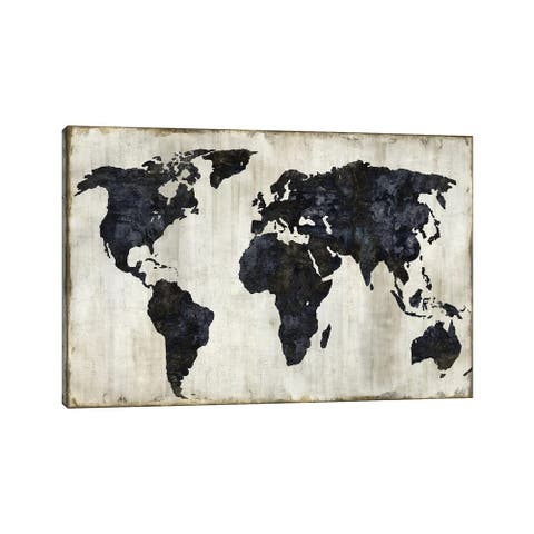 "iCanvas ""The World II"" by Russell Brennan Canvas Print"