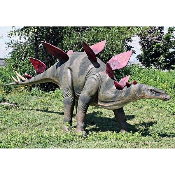 Design Toscano Jurassic-Sized Stegosaurus Dinosaur Statue
