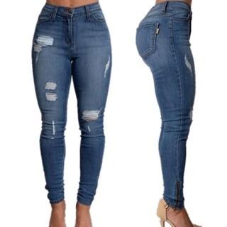 Women's High Waist Pencil Jeans