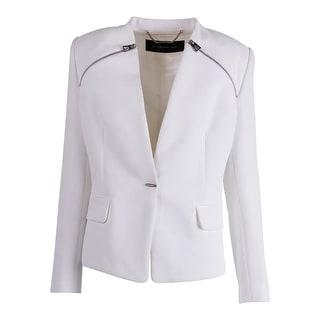 Barbara Bui Womens Shoulder Pads Long Sleeves One-Button Blazer - 42