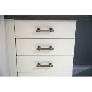 Atlas Homewares 315 Bronte 6-1/4 Inch Center to Center Bar Cabinet Pull