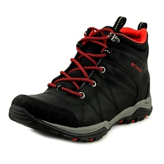 Columbia Fire Venture Mid   Round Toe Leather  Hiking Shoe