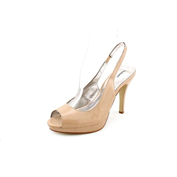 Style & Co Faith Womens Nude Pumps