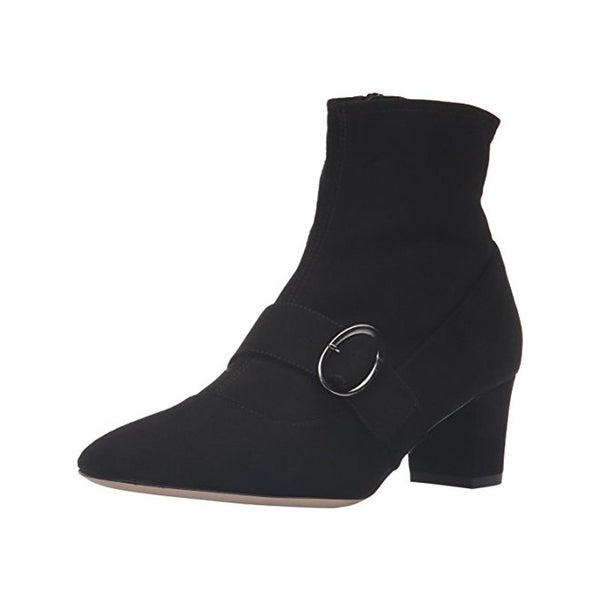 SJP by Sarah Jessica Parker Womens Tout Ankle Boots Suede Belted
