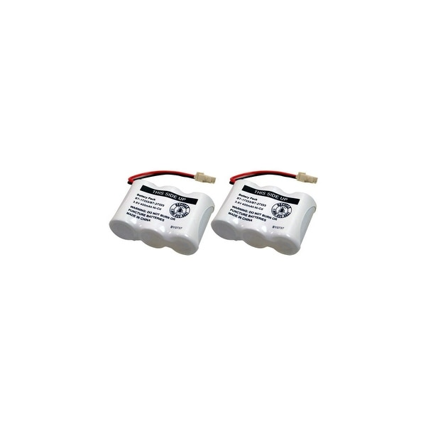 Replacement Battery For VTech CS5111 Cordless Phones - BT17333 (400mAh, 3.6V, NiCD) - 2 Pack