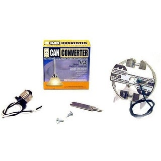 Woodbridge Lighting R4 The Can Converter R4 Recessed Can Light Conversion Kit fo