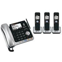 AT&T TL86109 + (2) TL86009 4 Handset Digital Corded / Cordless Speaker Phone New