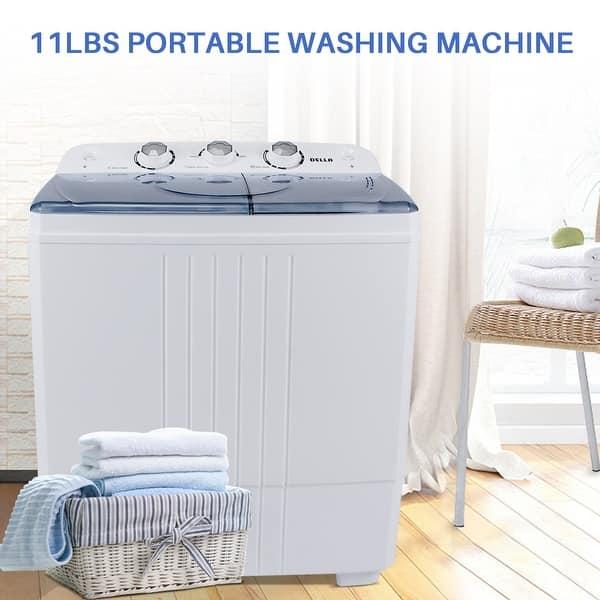 Shop Della Small Compact Portable Washing Machine Top Load ...