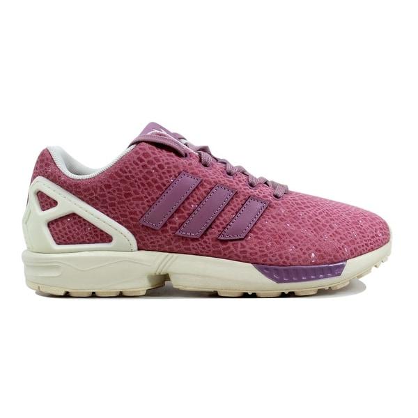 c3a5b96f2de60 Shop Adidas ZX Flux W Pink Pink-White B35311 Women s - On Sale ...