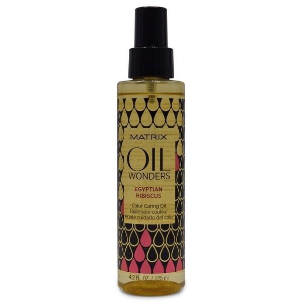 Matrix Oil Wonders Egyptian Hibiscus Color Caring Oil 4.2 fl Oz
