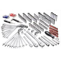 Powerbuilt 200 Piece Master Auto Mechanic's Service Tool Set - 642472