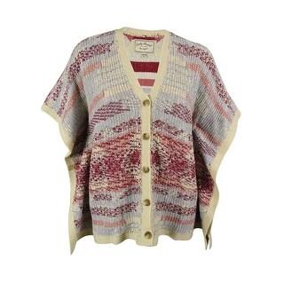 Lucky Brand Women's V-Neck Cardigan Sweater - os