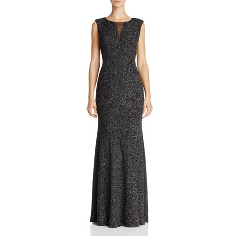 2c2517f4d46 SALE. Eliza J Women s Shimmer Illusion Textured Gown Dress