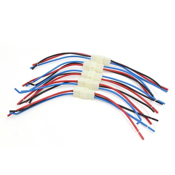Unique Bargains 5 Pcs 31cm Car Audio Radio Stereo Wiring Harness 3 Pin Wire Adapter Connectors