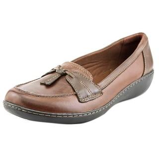 Clarks Ashland Bubble W Round Toe Leather Loafer