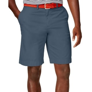 Tommy Hilfiger Mens Casual Shorts Classic Fit Flat Front