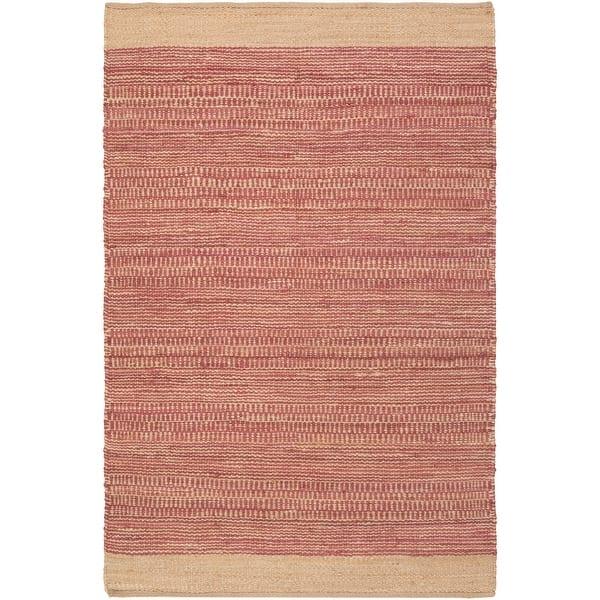 Carson Carrington Hammarvika Hand Woven Jute Cotton Area Rug Overstock 22802052