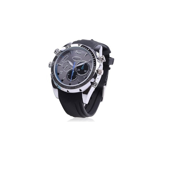 Spytec Bw-Hdspywatch1 1080P Hd Spy Watch With Night Vision & 120 Minutes Battery Life
