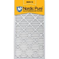 Nordic Pure 12x30x1 Pleated MERV 10 AC Furnace Air Filters Qty 6