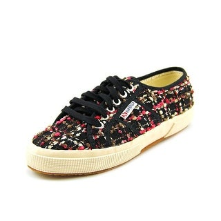 Superga Boucle Round Toe Canvas Sneakers