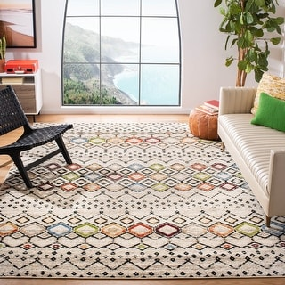 Link to Safavieh Amsterdam Bridget Modern Moroccan Boho Rug Similar Items in Rugs