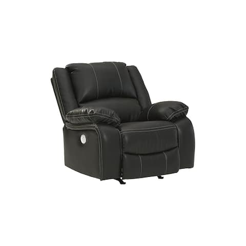Calderwell Power Rocker Recliner, Black