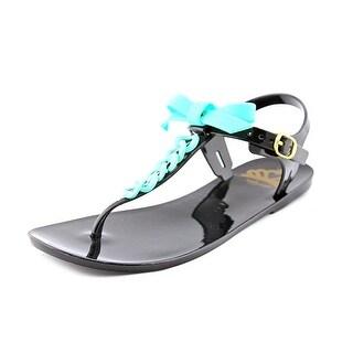 Fergalicious Womens Joy Split Toe Casual T-Strap Sandals