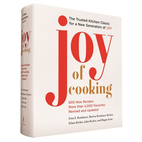 Joy of Cooking: Fully Revised and Updated Edition - Hardcover