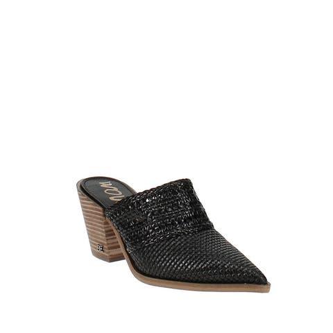 Sam Edelman Lillianna Pointed Toe Mule Black Leather