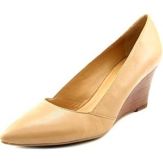 Franco Sarto Frankie Women Open Toe Leather Wedge Heel