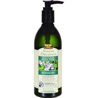 Avalon Organics - Glycerin Liquid Hand Soap - Rosemary ( 3 - 12 FZ)